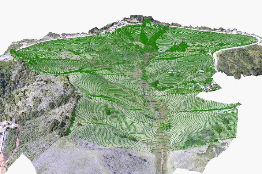 topografia con drones medellin