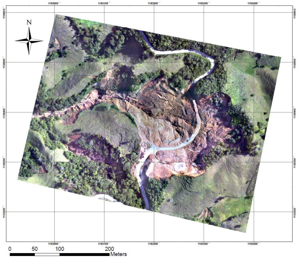 fotogrametria con drones colombia