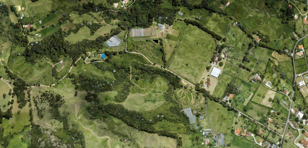 topografia aérea con drones medellin